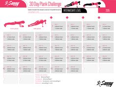 "sassyfitblog: ""30 Day Plank Challenge - Intermediate Level Welcome to August and Welcome to a New Fitness Challenge. It's my 30 Day Plank Challenge Intermediate Level! I created this fitness challenge over a year ago as a follow up to my 30 Day Plank..."