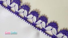 Sequential Crochet Lace Making – Dizi Filmler Burada Crochet Borders, Filet Crochet, Crochet Stitches, Crochet Shoes, Crochet Lace, Rope Crafts, Diy And Crafts, Diy Flowers, Crochet Flowers