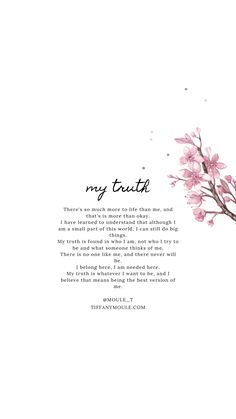 My truth is found in who I am, not who I think I am or seen .- My truth is found in who I am, not who I think I am or seen to be. I am in control of what I align w Your truth is your power, whatever that may mean is up to you. Ispirational Quotes, Motivational Quotes For Women, Wisdom Quotes, True Quotes, Words Quotes, Positive Quotes, Irish Quotes, Heart Quotes, Sayings