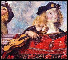 Renaissance Music, Renaissance Paintings, Italian Renaissance, Medieval, Twelfth Night, 16th Century, Art Music, Musical Instruments, Violin