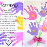 Printable Handprint Mother's Day Poem