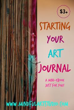 Simple techniques for expressing your heart and soul in your art journal.