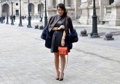 Fur in Paris. (Reem Kanj, Five Five Fabulous)