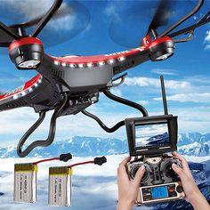 JJRC H8D 6-ejes Gyro 5.8G FPV Cuadricóptero RC Dron Cámara de alta definición+ - http://www.midronepro.com/producto/jjrc-h8d-6-ejes-gyro-5-8g-fpv-cuadricoptero-rc-dron-camara-de-alta-definicion/