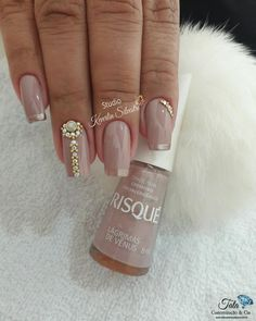 Wedding Pedicure Glitter Ideas For 2019 Bling Nails, Glitter Nails, My Nails, Wedding Pedicure, Wedding Nails, Glitter Wedding, Wedding Makeup, Nail Art Pictures, Dream Nails