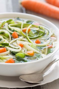 This recipe is flavor packed, super satisfying & low in calories!