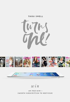Mini iPad + NextIssue Subscription Giveaway | Squirrelly Minds