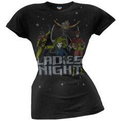 Marvel Comics Ladies Night T-Shirt on www.amightygirl.com