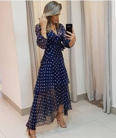 11 Best Summer Dress Fashions - 1 This summer is the most fashionable dresses. These fashion dresses will suit you very well. Trend Fashion, Look Fashion, Womens Fashion, 50 Fashion, Fashion Online, Best Summer Dresses, Maxi Dress With Slit, Floral Maxi Dress, Mode Style