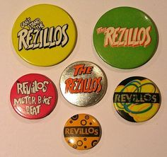 Punk Statement new Punk // Oi Action Time Vision // SKA 25mm badge