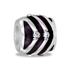 DaVinci Beads Brown Stripes Jewelry