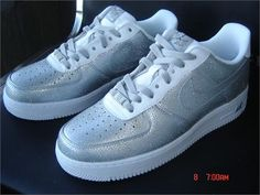 Nike Air Force 1 plata