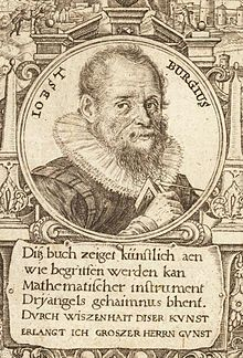 Jost Burgi - It is undocumented where he learned his clockmaking skills, but eventually he became the most innovative clock and scientific instrument maker of his time