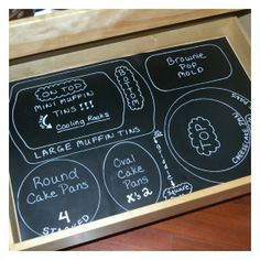 Brilliant idea! Love this! Organizing drawers for others to see what goes where!