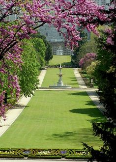Campo del Moro Gardens, beside the Royal Palace of Madrid, Spain