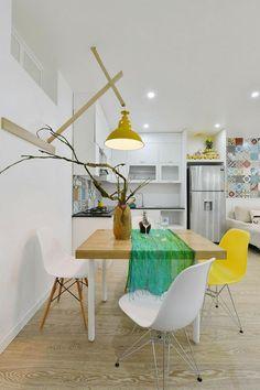 El apartamento de baldosas hidráulicas en la pared | Decorar tu casa es facilisimo.com