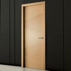 The beautiful prefinished Sanrafael Lisa style K05 oak decape veneered FD30 fire door. #firedoor