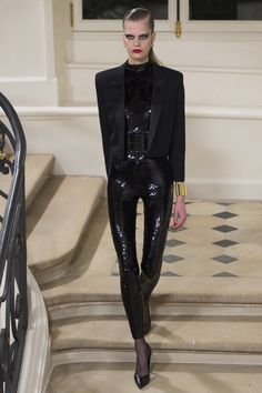 Saint Laurent,  I am very disappointed. All of the models for this season are extremely emaciated. What happened to the healthier more realistic models we started to see???