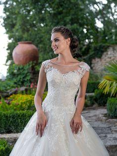 Rozprávkové svadobné šaty s tylovou sukňou