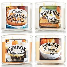 More Bath and Body Works Fall 2014 Candles | This is perfect for pumpkin lovers!(la 2ème et la dernière _ elle sont dispo sur v-inc!)
