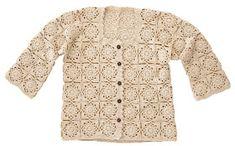 Crochet Coat, Crochet Jacket, Crochet Cardigan, Crochet Clothes, Crochet Bolero Pattern, Cardigan Pattern, Cardigan Fashion, Knit Fashion, Toddler Sweater