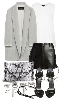 """Untitled #19670"" by florencia95 ❤ liked on Polyvore featuring Topshop, Zara, Yves Saint Laurent, STELLA McCARTNEY, Stuart Weitzman, Forever 21, David Yurman and French Connection"