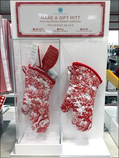 Martha Stewart Make a Gift Mitt