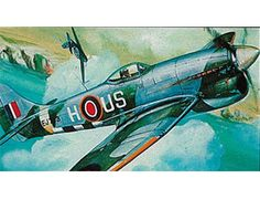 The Revell Hawker Tempest Mk.V Micro Wings Model Kit in 1/144 scale from the plastic aircraft models range accurately recreates the real life British fighter aircraft that entered service during World War II.  The Micro Wings range features the most well-known aircrafts of the Royal Airforce and of the German Air Force and are available as model kits for beginners. Every model includes authentic decals, transparent parts and a display stand.