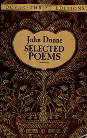 Selected Poems Donne John 1572 1631 Free Download Borrow And Streaming Internet Archive Poems John Donne John Donne Quotes