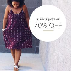 Life is short. Wear the dress. Rock the jeans. Dance in heels. Find all the styles that make you look and feel amazing. Gwynnie Bee, Talbots, and Lane Bryant, always 70% off retail price. Sign up today.