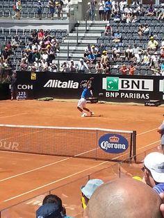 Internazionali 9 maggio 2015 Djokovic