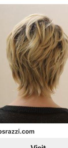 Short Hair Back, Shaggy Short Hair, Short Choppy Hair, Short Sassy Hair, Short Hair With Layers, Short Hair Cuts For Women, Haircuts For Medium Hair, Short Shag Hairstyles, Medium Hair Styles