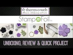 Gina K Stamp-N-Foil Review & Project