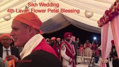 Sikh Wedding 4th Lavan Flower Petal Blessing