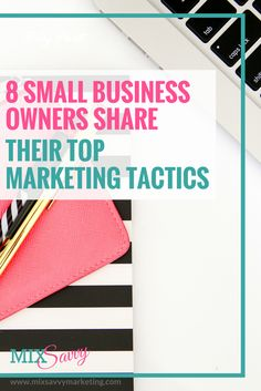 8 small business owners share their top marketing tactics! Marketing Budget, Small Business Marketing, Business Tips, Online Business, Marketing Tactics, Marketing Tools, Business Funding, Social Media Engagement, Creating A Business