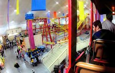 Experience Parthenon's Indoor Theme Park for indoor thrills! | Mt. Olympus Water & Theme Park Resort | Wisconsin Dells, WI |