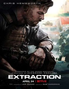 Extraction: Trailer for Netflix Movie to Release Tuesday. - The trailer for Extraction — the Chris Hemsworth-led action thriller movie from the makers of Ave - Netflix India, Action Movies, Action Film, Live Action, Films Netflix, Netflix Original Movies, Watch Netflix, Movie Posters