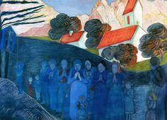 Prayer-c.1910 by Marianne von Werefkin