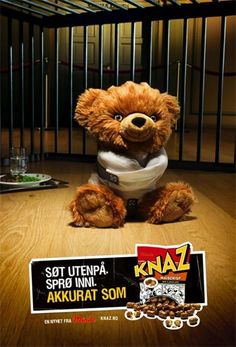 Commercial for Knaz Nuts. I don`t know for what a movie .
