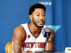 a4a4bce2b06a New York Knicks Game and Watch Info Derrick Rose