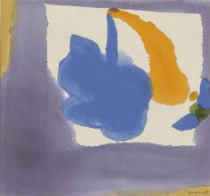 MAUVE FRAME  By Helen Frankenthaler    Dimensions: 21 x 22½ in. (53.3 x 57.1 cm.)  Medium: acrylic on canvas  Creation Date: 1969  http://www.mutualart.com/Artist/Helen-Frankenthaler/406352AD3B6A91D0/AuctionResults