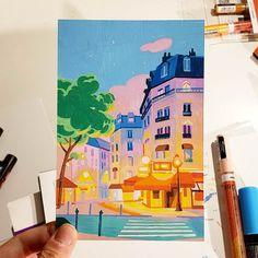 Printable Wall Art Shop - Abstract Art, Illustration and Watercolour Molotow Marker, Posca Marker, Marker Art, Gouache Painting, Painting & Drawing, Gouache Color, Vexx Art, Posca Art, Arte Sketchbook