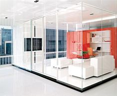 interior glass walls residential - Google Search