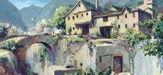 「灰と幻想のグリムガル」森や街などを描いた美術ボードとPV第1弾が公開 画像(4) : ニュース - アニメハック