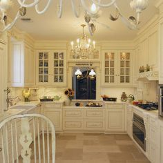 Kitchen French Country Kitchen Small Design