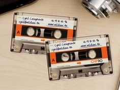 design Business Card music.  Had so many of these tapes with music from the 80's & 90's I recorded from the top 40 radio station.