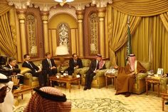 Kings Felipe, Abdullah, and Willem-Alexander are in Riyadh where they were given an audience with the new Saudi King