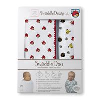 Chiiiiirp! *NEW* SwaddleDesigns - SwaddleDuo - Angry Birds Baby Duo - Red Bird