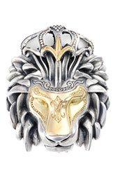 Konstantino 'Minos' Lion Head Pendant