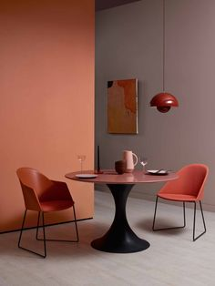 """Doppel in Pastell: Zu Crowns Nude (""""Cushion Craze"""") wird jet Interior Walls, Interior Design, Terracotta, Decoration For Ganpati, Decorating Bookshelves, Decorated Jars, Decorating Coffee Tables, Elle Decor, House Colors"""